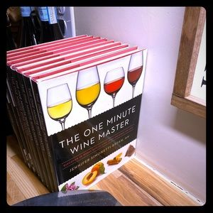 Other - The one minute winemaster hard cover book